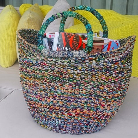 🤶 We're bringing our signature baskets to Marrickville markets on Sunday🎄Find us in the big hall. 🎅 They're the perfect showstopper gift for the person who has 'everything'...because they don't have our unique, handmade, recycled baskets from Ghana 🇬🇭. We're the only group in the whole wide world who make these particular baskets and YOU can get them in MARRICKVILLE 💃😍. . . . . #interiordesignideas #makersmovement #handsandhustle #makersgonnamake #creativehappylife #interiordesignideas #mycreativebiz #bolgabaskets #textileart #weaving #fiberart #textiledesign #handmadeau #interiorstyling #interior_design #interiordecorating #socent #homedecoration #ghana #interiorstyle #interiordesigner #reallivingmag #sydneylife #ilovesydney #lmbdw #recycled #waronwasteau