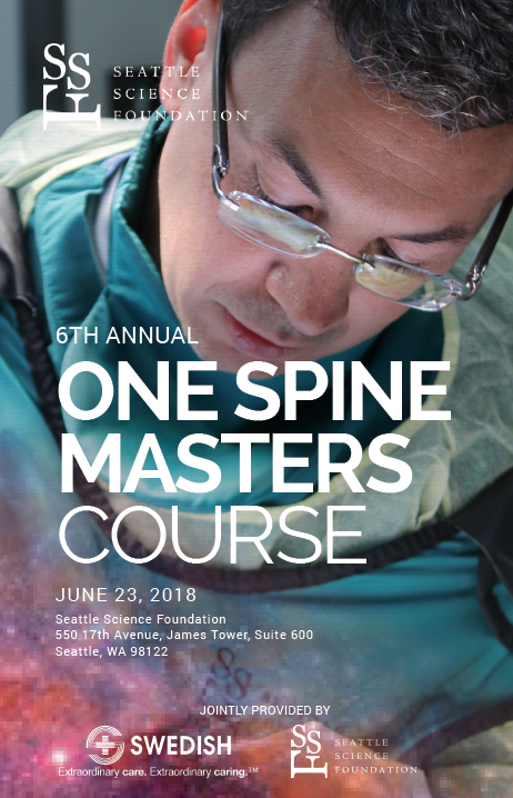 6th annual one spine masters course seattle science foundation