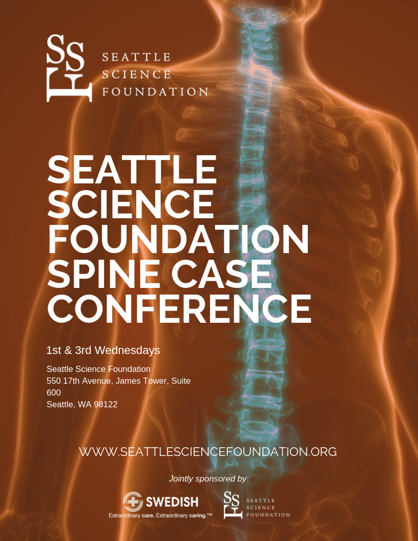 SPINE CONFERENCE  1st & 3rd Wednesday 6:30 - 8 a.m.