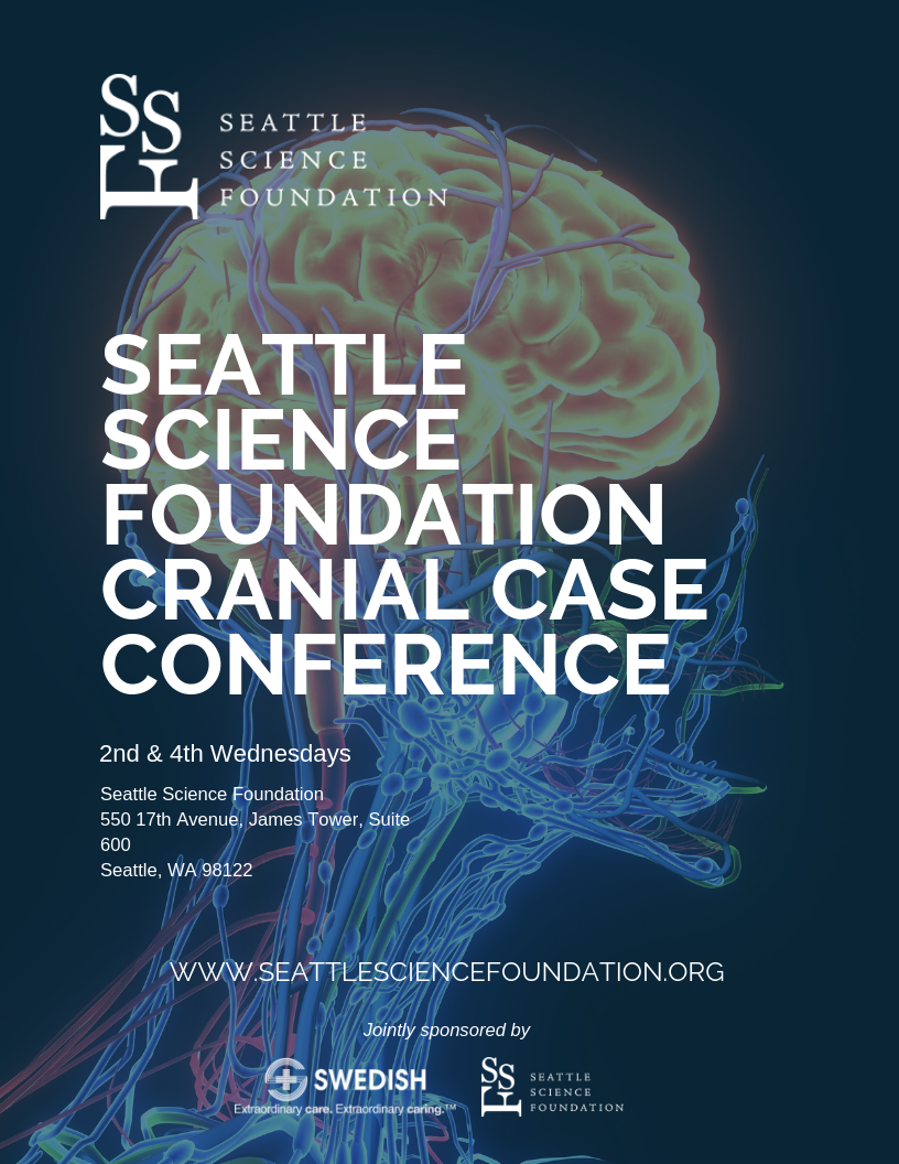 CRANIAL CONFERENCE  2nd Wednesday 6:30 - 8 a.m.  4th Wednesday 6:30 - 7:30 a.m.