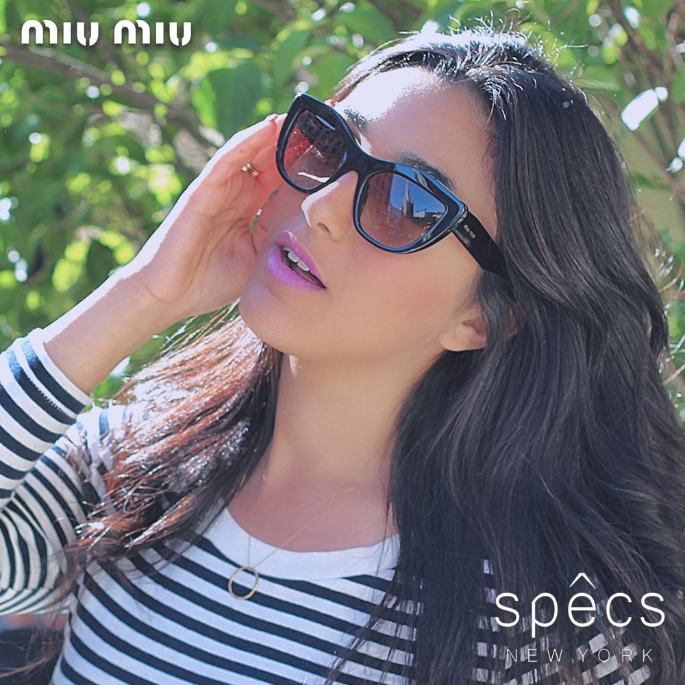 Nili Damari for Miu Miu Eyewear