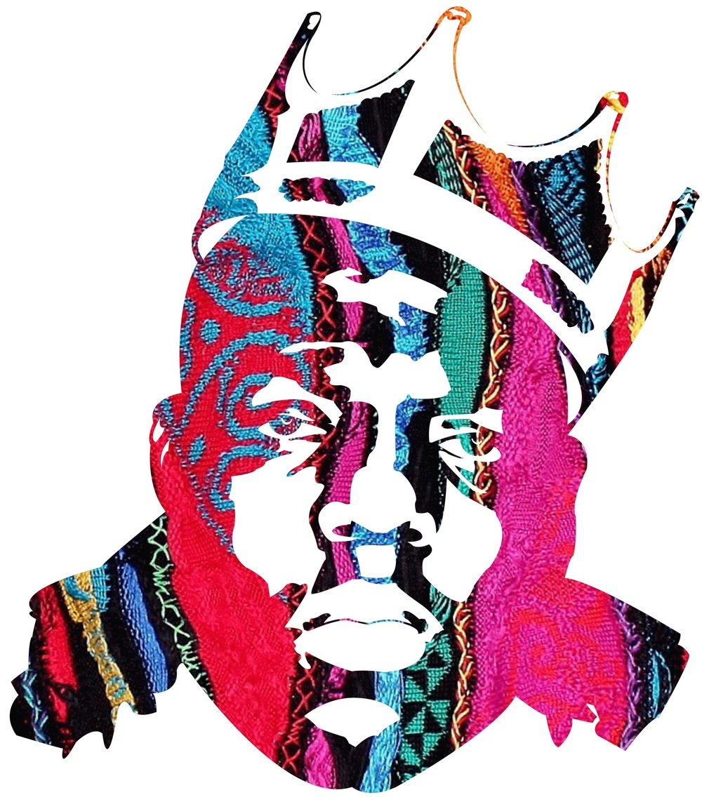 Notorious BIG visuals by AJ Lavilla