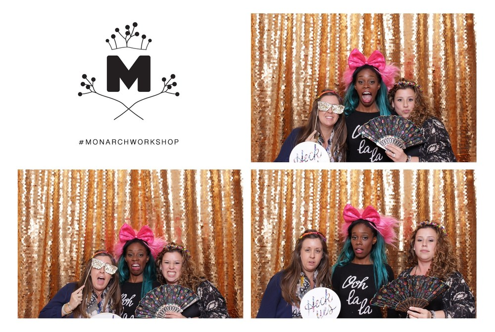 Photo booth fun with Jenn Chapin and Bethany Everett. Check out Bethany's blog   Twenty Something Plus .