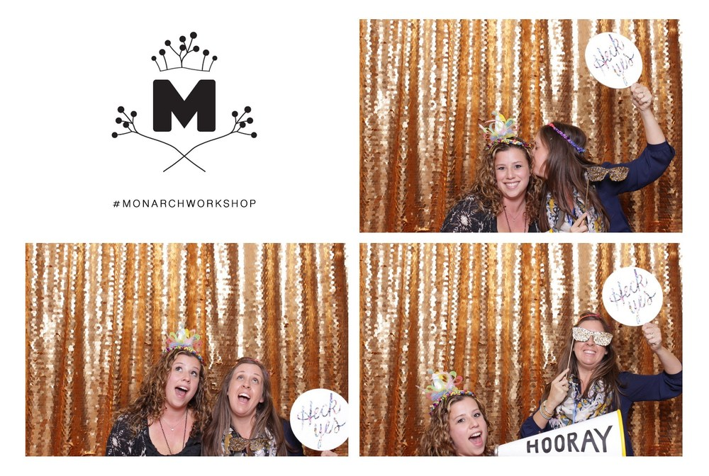 Photo booth fun with Jenn Chapin!
