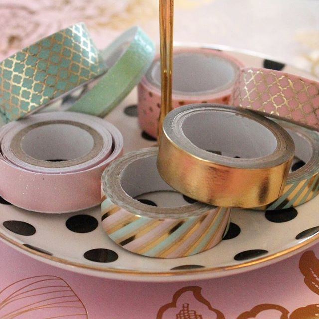So many uses for washi tape! What's your favorite? My current might be wrapping tiny voice candle holders to give them a little kick of color. . . . . .  #craftivatect #washitapelove #ctnow #ctcrafters #ctarts #ctart #connecticut #connecticutstyle #crafterslife #connecticutgram #iheartart #igersct #washitape #ihavethisthingwithstationery #creativeminds #creativityfound #newenglandstyle #ctvisit #wallingfordct #crafttherapy #wallingfordsmallbusiness #craftymom #ilovecrafting #craftylife #creatorsclass #makersvillage #handmadeisbetter #everyoneiscreative #prettythings