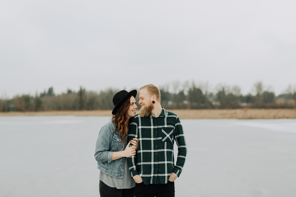 JESSE + KASIE - FROZEN LAKE SESSION