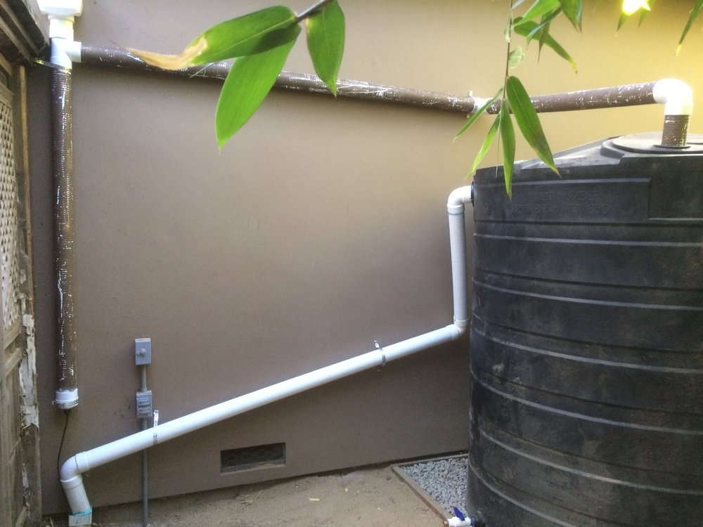 Rain Barrel Storm water capture