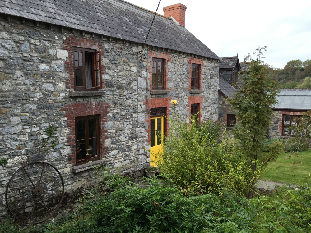 "Lawcus Farm, Stoneford, near Kilkenny. There is a mixture of humor, history, and sentiment in this home. I was deeply moved by a personal photograph in their kitchen with this inscription, ""if it is meant to be, it will not pass you..."" Lovely."