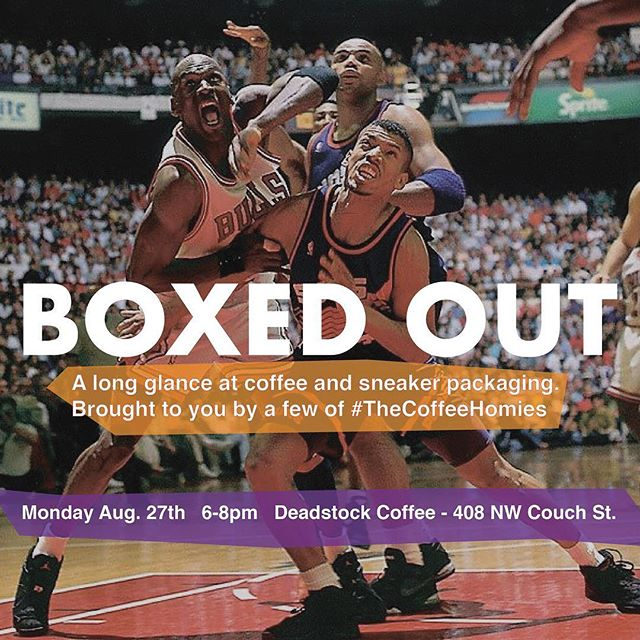 Me and @coffeefeedpdx finna get it boomin tomorrow. Come thru. Monday Aug 27th 6-8p.  #coffeeshouldbedope #boxedout #thecoffeehomies