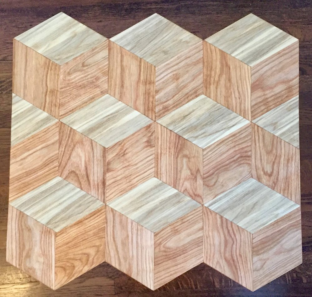 Birch and Poplar Teselation Table