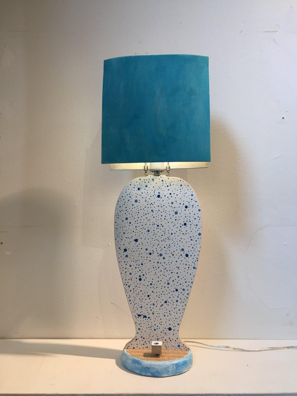 Melamine Flat Lamp