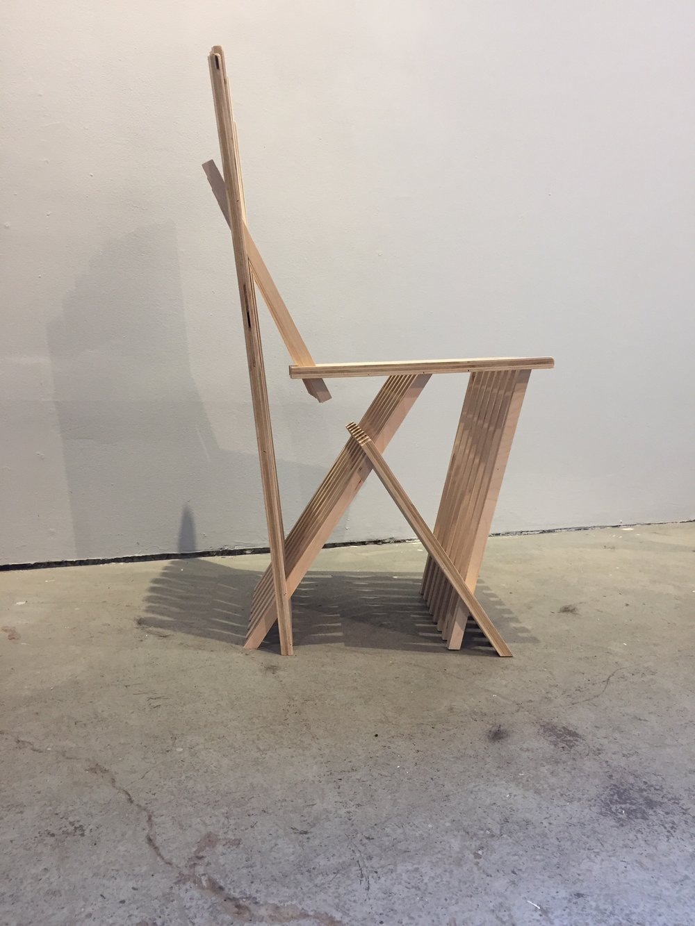 Unfolding Chair