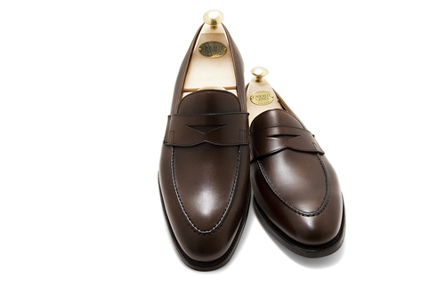5eb6c79fcb3 Crockett   Jones Sydney Penny Loafer – Dark Brown Burnished Calf.  DSC 0214 1 .jpg