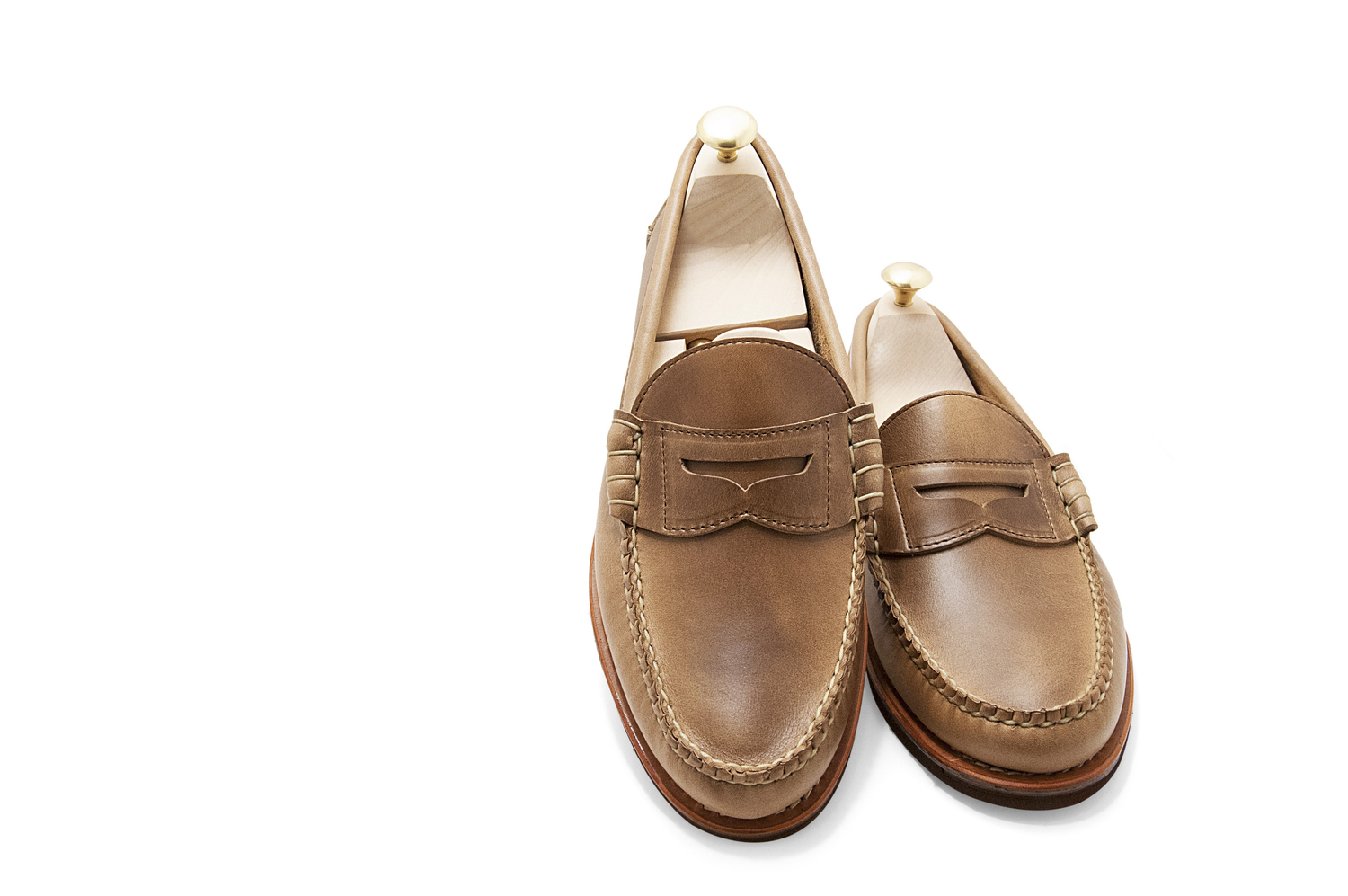 f6285baf24 Rancourt Beefroll Penny Loafer – Carolina Natural Chromexcel — Sky Valet  Shoes