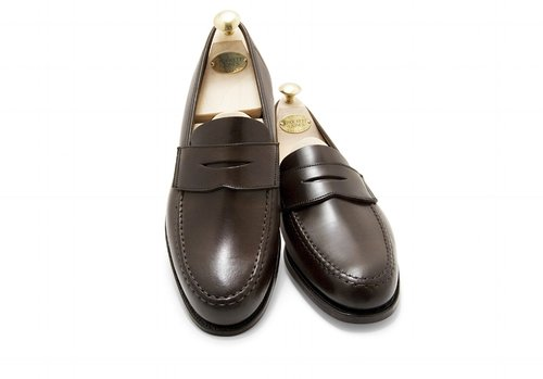 3915d281299 Crockett   Jones Harvard Penny Loafer - Brown Cordovan. DSC 0183 (1) 1 .jpg