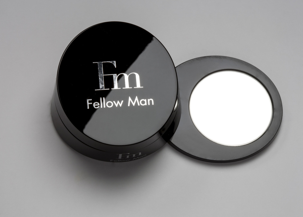 CONCEPT   Fellow Man is a men's skin care line. We decided to have a brand specifically for men because it is a growing market. Our target audience has a refined taste and is looking for quality products designed specifically for them.