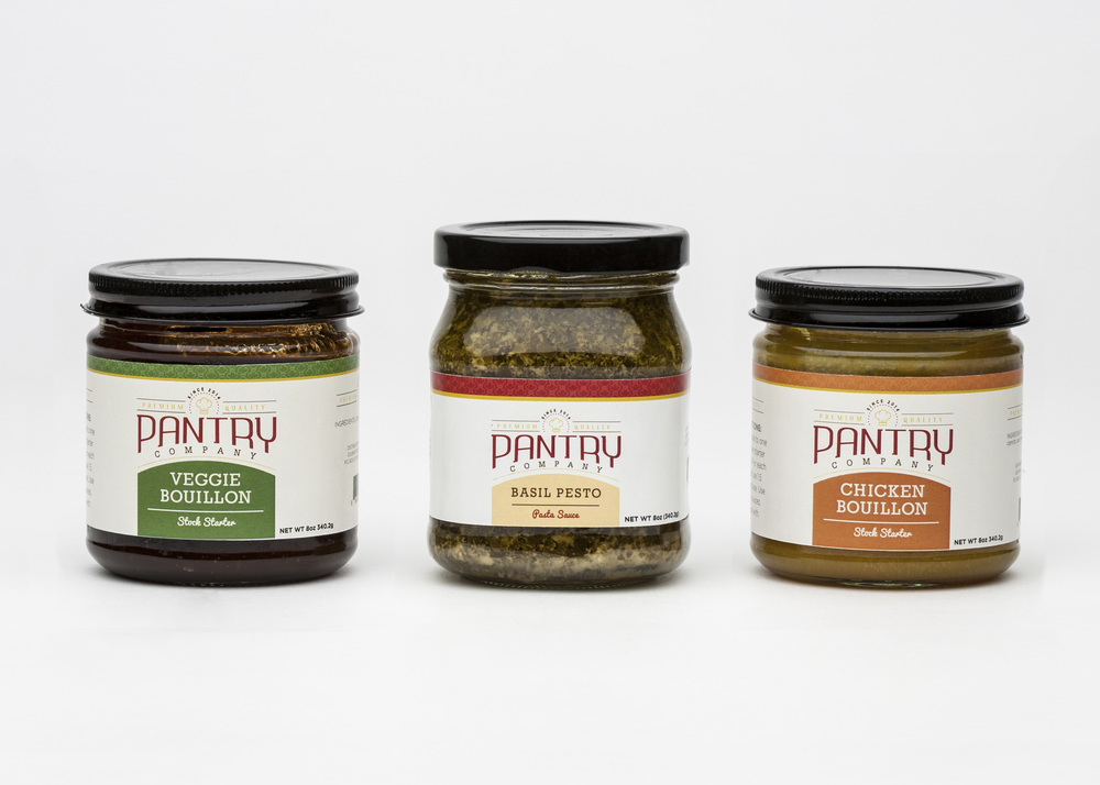 CONCEPT   Pantry is an premium packaged food line that uses the highest quality ingredients possible.
