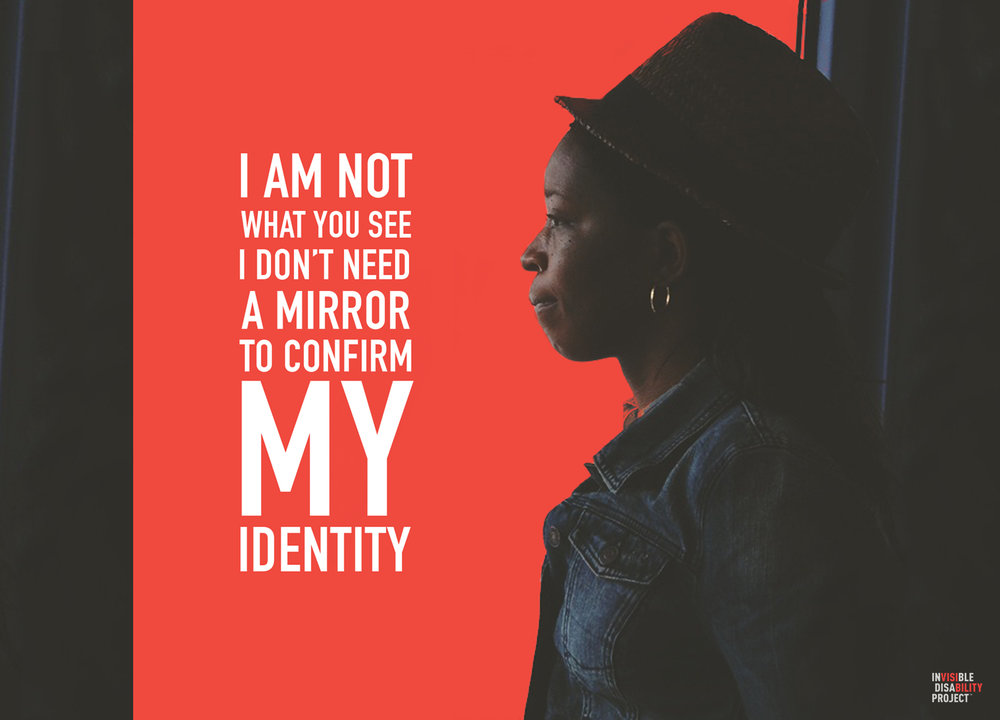 I don't need a mirror to confirm my identity.
