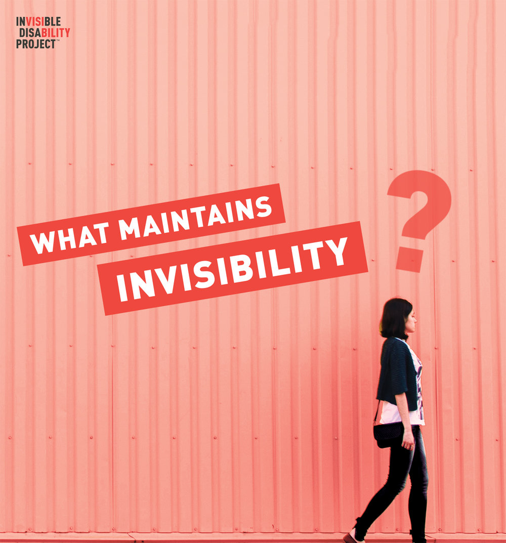 What maintains invisibility?