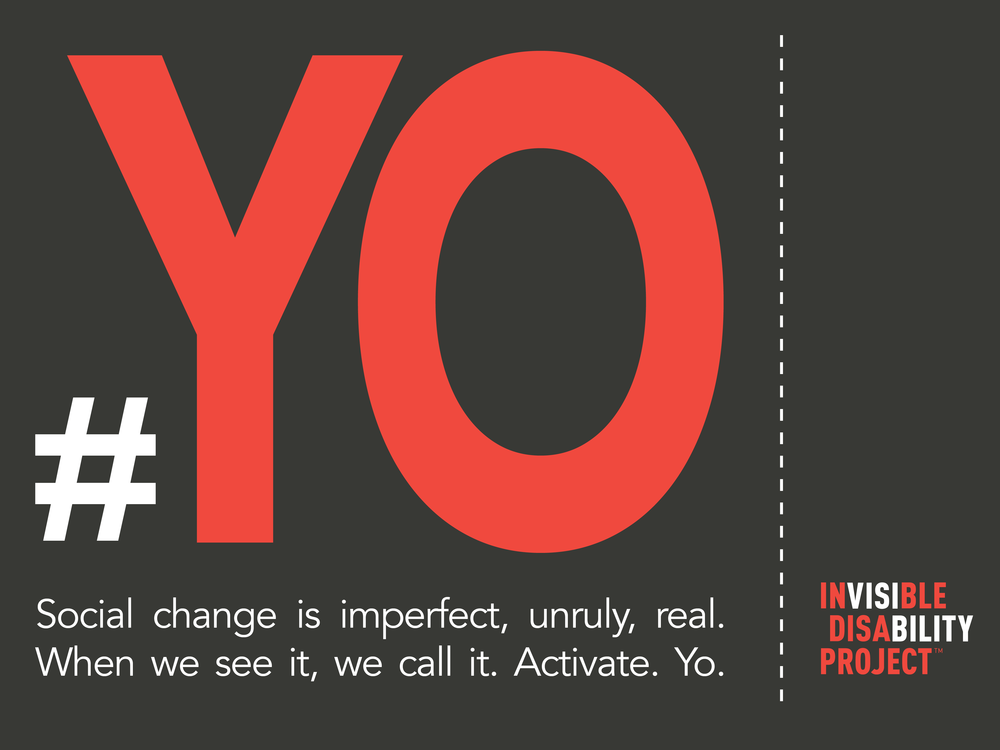 Yo. Social change is imperfect, unruly, real. When we see it, we call it. Activate. Yo.
