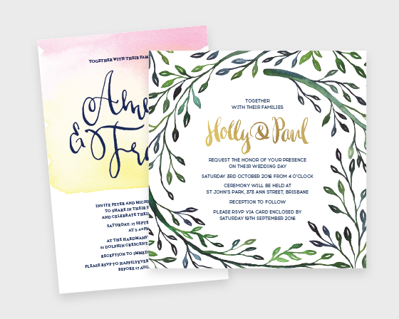 Wedding + Event Stationery
