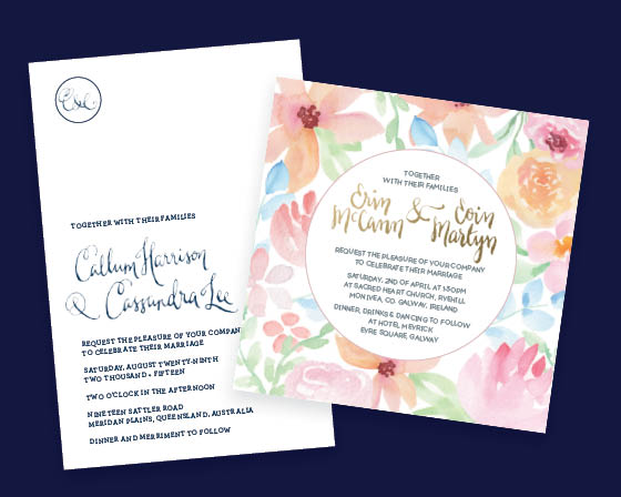 Bespoke Invitations