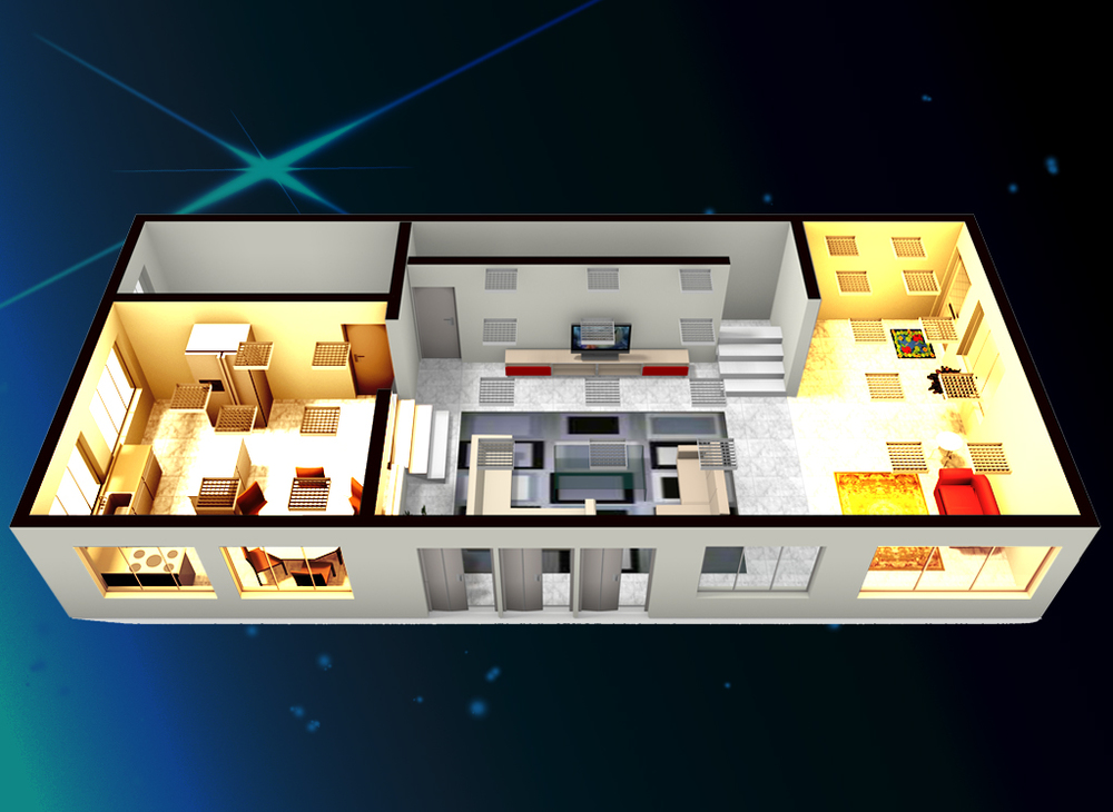 Smartzone smart home malaysia building automation system for Smart home floor plans