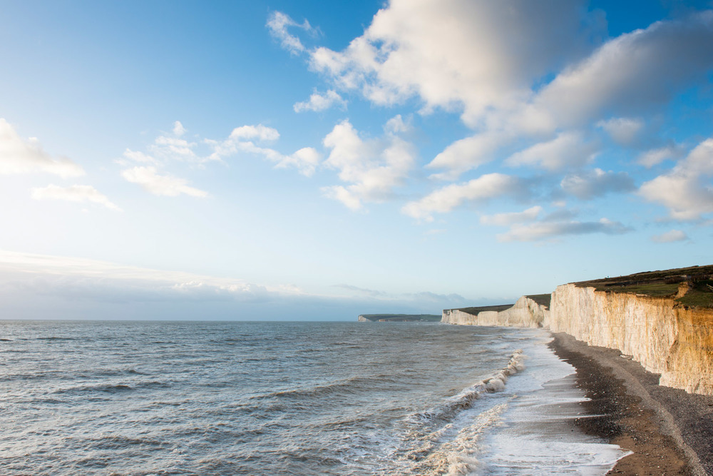Seven Sisters from Birling Gap, Sussex, England