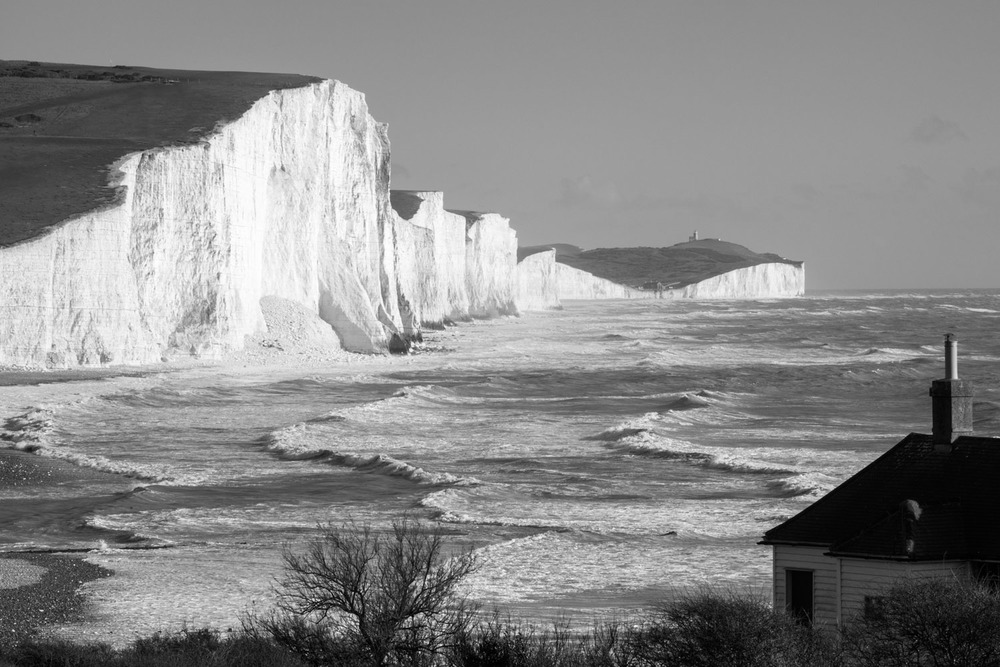 Coastguard Cottage and Seven Sisters, Sussex, England