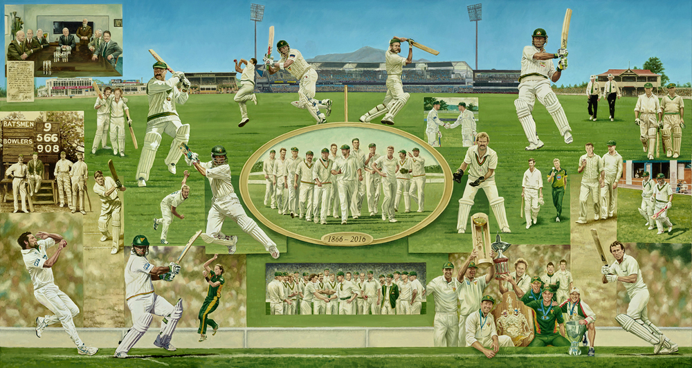 TASMANIAN CRICKET 150TH ANNIVERSARY