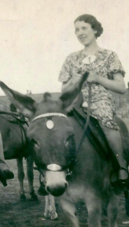 Elsie about 1950.