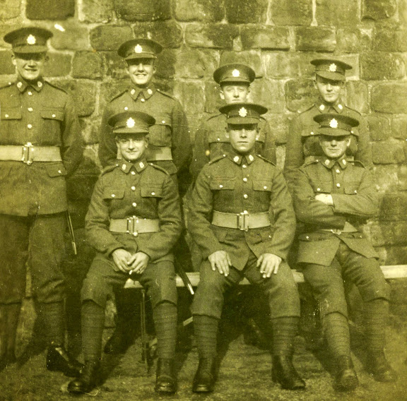 James Gettings, centre front. Border Regiment, about 1926.