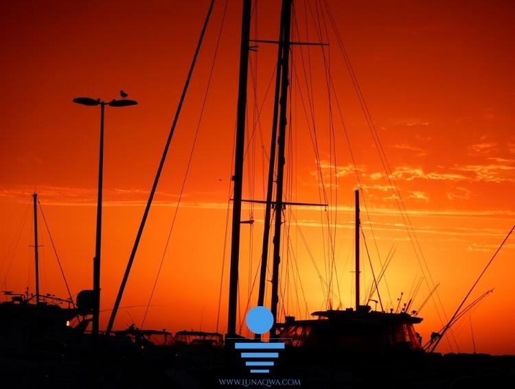 'Sunset Sailing' - NOR-012 - LARGE