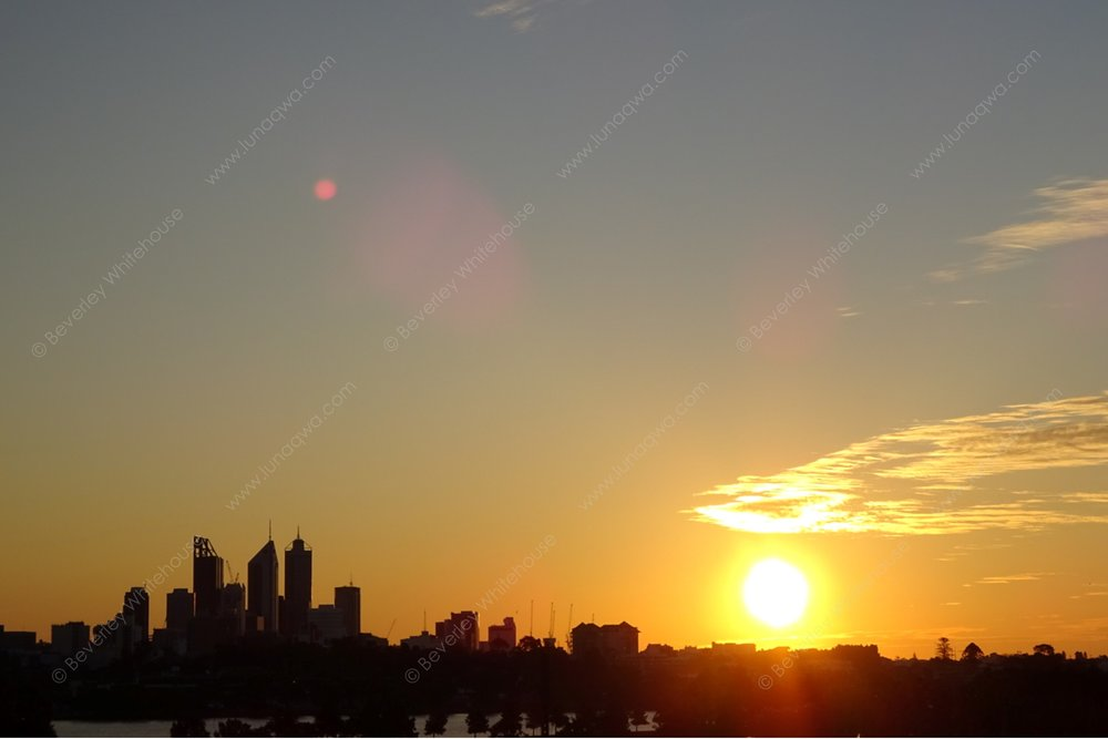 CIT-002 - Sunset over the City - SMALL