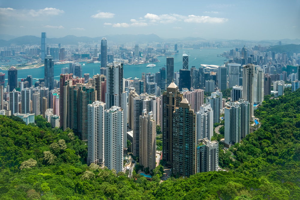 View of Victoria Harbour from the Peak