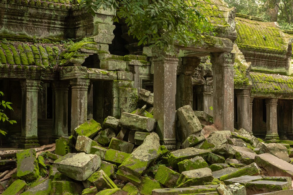 Ta Prohm, the inspiration behind  Tomb Raider