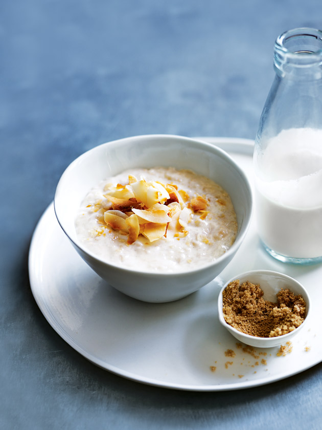 Coconut & Brown Sugar Porridge by Donna Hay