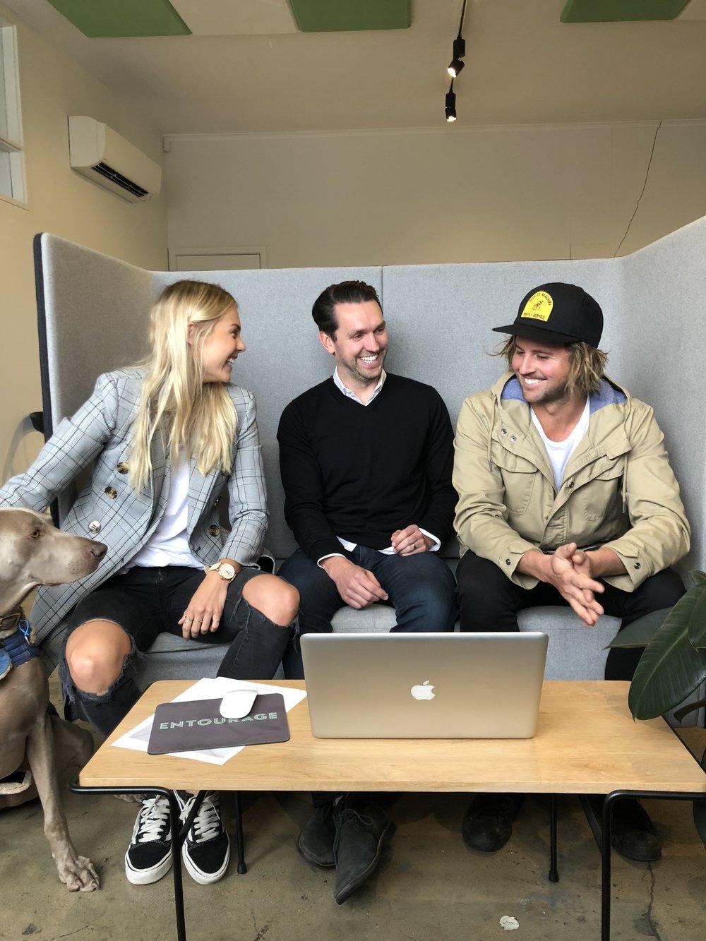 Entourage Elyse and Josh 2018 1.jpg