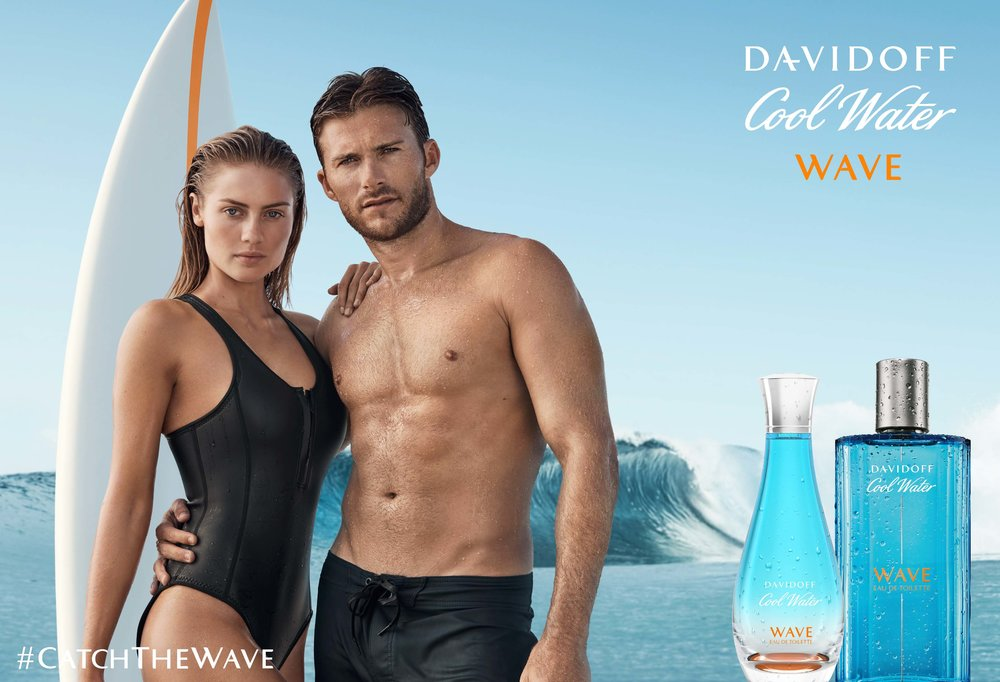 Davidoff Cool Water Elyse Knowles