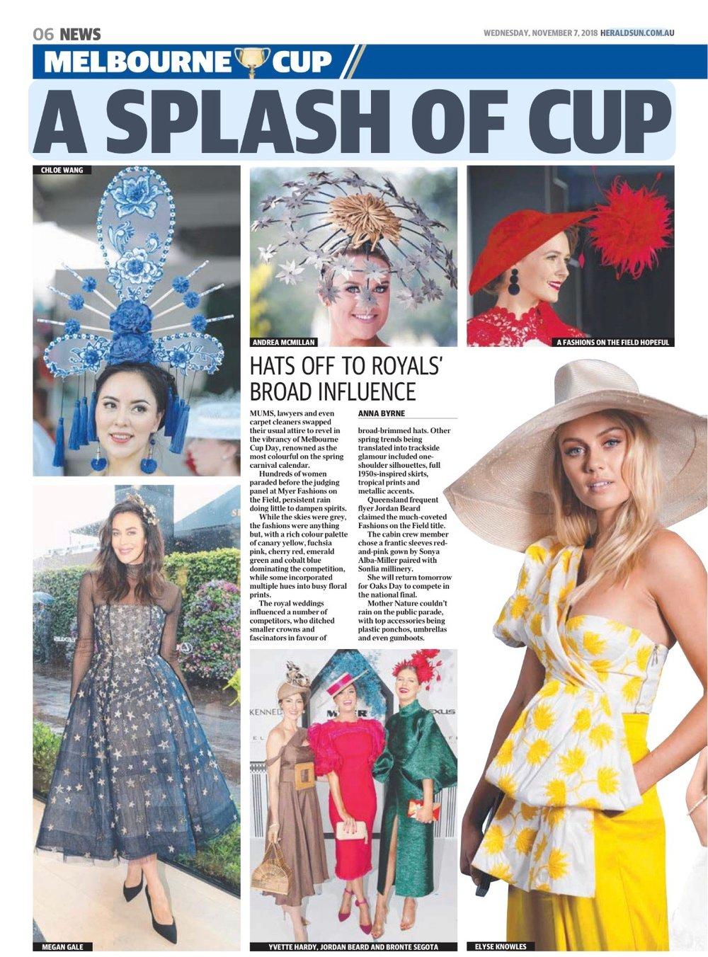 Herald Sun - Elyse Knowles