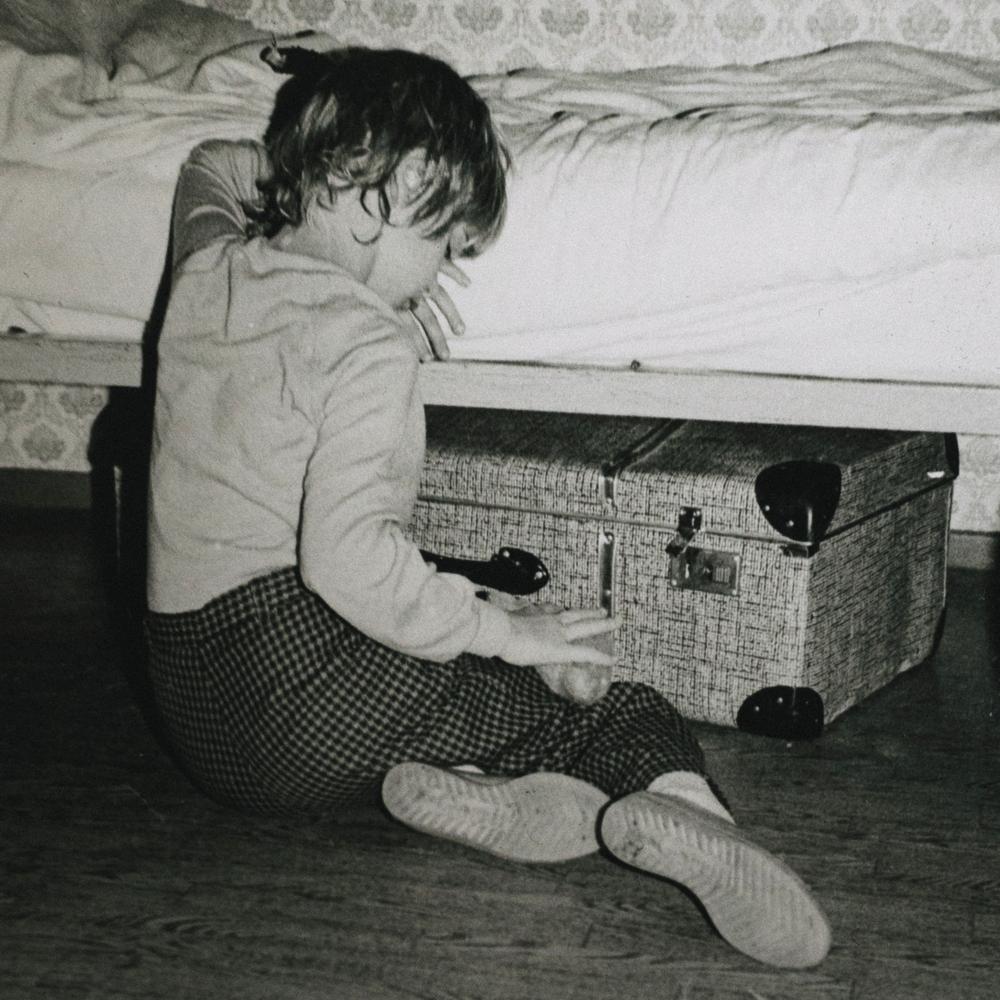 Schmollend im Urlaub, 1987