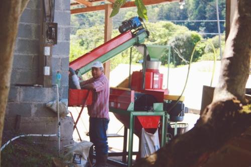 Manuel at Don-Eli Micro Mill