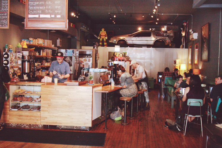 Wormhole Coffee in Wicker Park