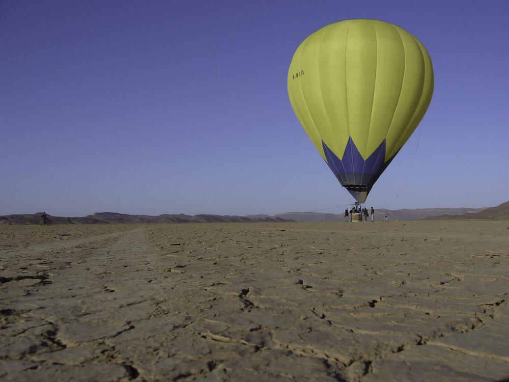 Ait Atta flight in Marocco
