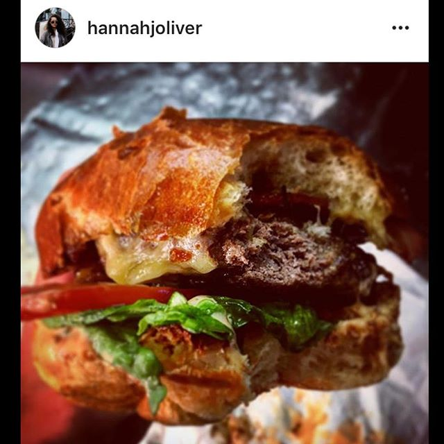 #Regram from our longest serving front of house member of staff @hannahjoliver who is eating a #burger a day from Sunday-Friday! Here we have the absolute classic that is the Smokin' Bacon! #sheusedtobeamodelyouknow #butshetoosmall 🍔🐸