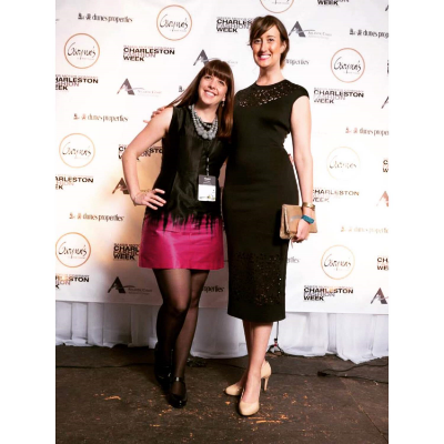 Angela & Emily at CHarleston Fashion Week 2015
