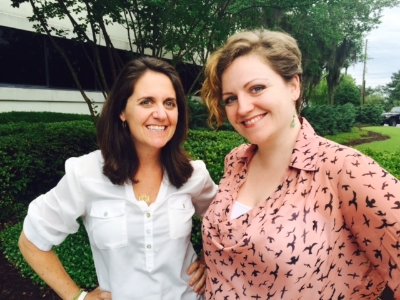 Ginny Carson (left) and Sarah Coe (right) tell us what they love about the lowcountry.
