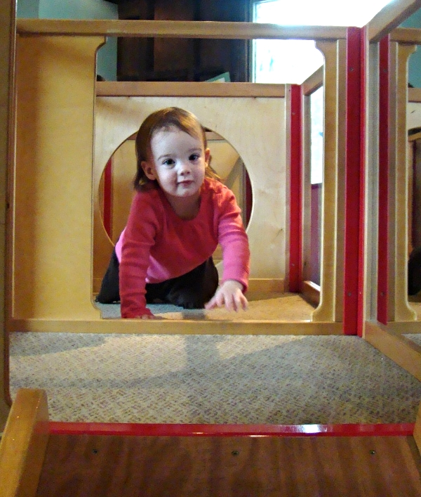 A young, Brooklyn, at the Children's Museum of the Lowcountry