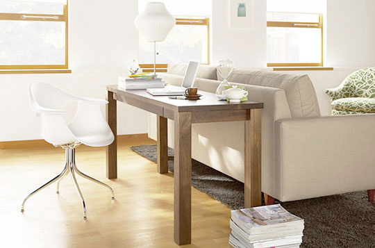 living small find space for a living room office Refreshed Designs