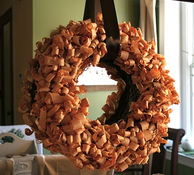 Christmas+Fall+Holiday+Wreath+-+Wood+Shavings+wreath+-+craft+project+by+The+Stories+of+A+to+Z.JPG